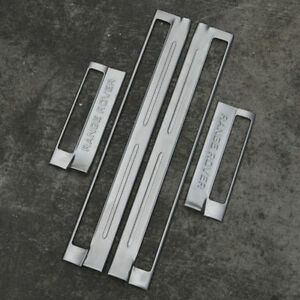 Stainless Steel Inner Door Sill Scuff Plate Fit For Land Rover Range Rover Sport