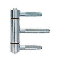 Einbohrband 3-Teilig Haustürbänder Türband 16 mm Drill-in hinge door hinges VZ