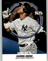 2019 Topps Series 2 SIGNIFICANT STATISTICS Complete BLUE PARALLEL Set (25) Judge
