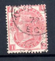 GB QV 3d rose SG103 Plate 7 fine CDS used WS17762