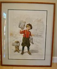 """Authentic Lee Dubin """"The Partners"""" Limited Edition Lithograph No. 55/325 Etching"""