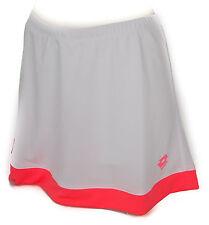 Gonna gonnellino tennis donna skirt LOTTO art. Q2392 taglia L col. BIANCO WHITE