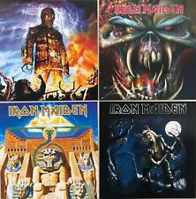 Iron Maiden 4 PACK Album Cover Greeting Cards  Officially Licensed