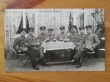 WW1 echt Foto AK Prenzlau Soldaten Ersatz Bataillon Infanterie Regiment 64 1916
