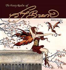 Amy Brown Fairy Faery Calendar 2010 Sealed New Dragon Fantasy Art Mermaid New