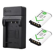 2x 1350mAh NP-BX1 Akkus + Ladegerät For Sony DSC RX1 RX100 M3 WX350 WX300 HX400