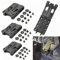 3pcs Molle EDC Multi Function K Sheath Scabbard Waist Clip Back Clamping Outdoor