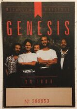 Genesis Vintage Original Concert Tour Cloth Backstage Pass