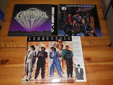 COMMODORES - NIGHTSHIFT, UNITED & MIDNIGHT MAGIC - 3 ORIGINAL LP'S TOP!!
