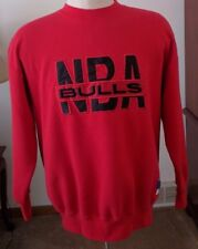Vintage Chicago Bulls Crewneck Sweatshirt Size Extra Large Red Basketball