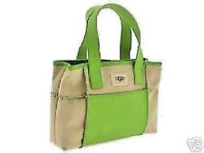 NWT Athentic UGG Australia Sand Green Mini Grab Purse Handbag Bag