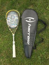 New Harrow Jonathan Power Custom Pro Series Squash Racquet - Turbo w/ Case 160G
