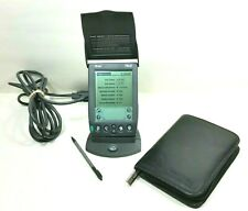 Palm Pilot III 3Com PDA Stylus, HotSync Cradle, Kenneth Cole Leather Case Tested