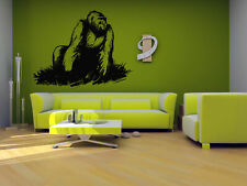 Wall Vinyl Sticker Room Decals Mural Design Monkey Gorilla King Kong  bo1269