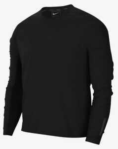 Men's Nike Tech Pack Ultra Light Running Top Black/Reflective Grey Size Medium