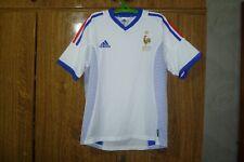 France Adidas Vintage Football Shirt Away 2002/2003/2004 White Boys Size YXL?