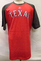 Texas Rangers Men Big & Tall XLT-6XL Graphic T-Shirt MLB Red Majestic A14