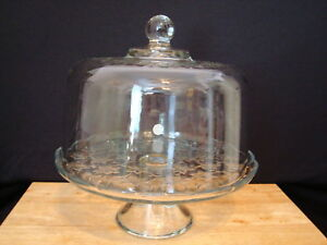 NEW Princess House Fantasia Domed Cake Plate/Punch Bowl