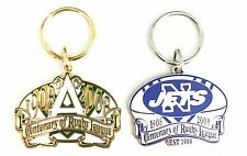 NEWTOWN JETS WITH ARL SET OF 2 NRL CENTENARY 1908-2008 KEY RINGS KEYRING