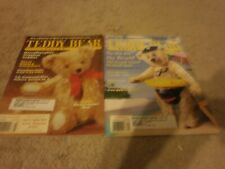 2 VINTAGE Teddy Bear Review Magazine  2001 72 PAGES   1/2 3/4