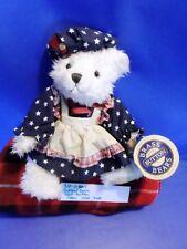 Pickfords Bears Brass Buttons White Bear Opal 1996 plush(310-1180-1)