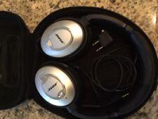 Bose QC15 Quiet Comfort 15 Acoustic Noise Cancelling Headphones nice condition