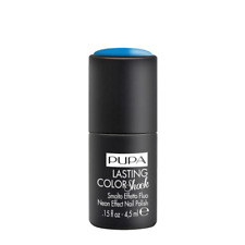 Pupa Lasting Color Shock 4 5ml 001 Elecrtic Blue - Smalto effetto Fluo