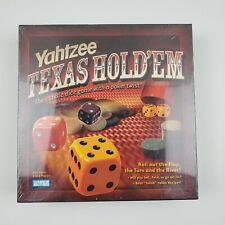 Yahtzee Texas Hold'em Poker Style Dice Game Hasbro 2004