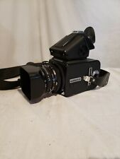 Hasselblad 500 CM with Carl Zeiss Planar lens, extras and original strap
