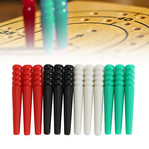 12 Pcs Cribbage Pegs Fit 1/8 3/16 1/4 Holes Cribbage Pegs Traditional Board Game