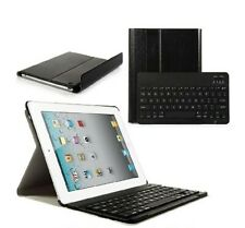 iPad 2/3/4 Smart Stand Cover with Magnetically Detachable Wireless Keyboard
