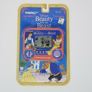 Tiger Electronics Beauty And The Beast LCD Handheld Game Sealed New 1991 Vtg Toy