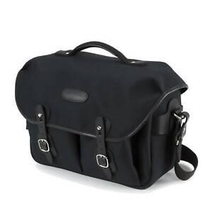 Billingham Hadley One Camera / Laptop Bag   Black FibreNyte / Black Leather