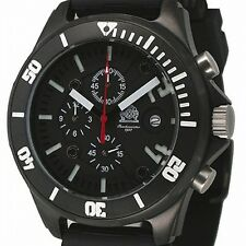 German Chronograph Combat-Diver 20bar WR DEEP-SEA T0218