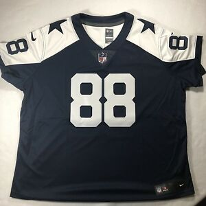Nike Womens NFL Dallas Cowboys Dez Bryant #88 Sewn Limited Retro Jersey Size 2XL