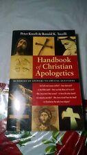 HANDBOOK OF CHRISTIAN APOLOGETICS Peter Kreeft & Ronald K. Tacelli 1994