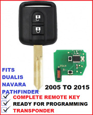 Complete Remote car key Suitable for for NISSAN Dualis Pathfinder Navara