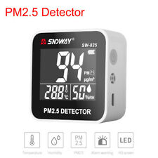 SNDWAY Mini Portable PM2.5 Detector Gas Analyzer Air Quality Gas Detector Meter
