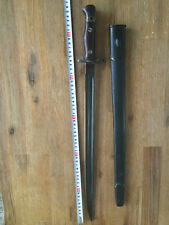Siam(Thailand) smile tiger 1907 bayonet SN4184  and steel scabbard.very rare
