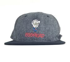 Egghead Software Embroidered Mad Scientist Logo Baseball Cap Hat Adj Adult Size