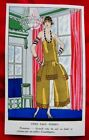Art Gout Beauté Chez Paul Poiret Nubienne Pochoir original de 1924 Art-Déco