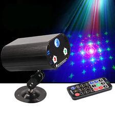 3 Lens 36 Patterns Remote RGB LED Laser Projector Stage Lighting DJ Party Light