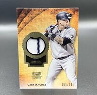 Gary Sanchez 151/331 2017 Topps Tier One Relic T1R-GSA New York Yankees MLB