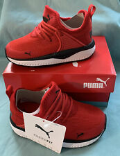 PUMA Pacer Next Cage AC PS Junior SNEAKERS Red Size 6c
