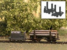 MU N-A00430 - Feldbahn Drehgestell Holztransporter - Spur N - NEU
