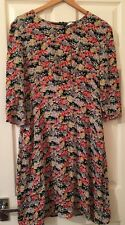 John Lewis Weekend Collection 100% Viscose Flower Dress Pregnancy