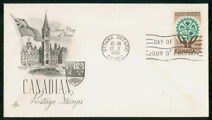 Mayfairstamps CANADA FDC 1961 RESOURCES FOR TOMORROW wwm69547