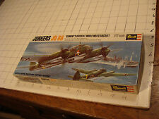 JUNKERS JU 88 germany's versatile world war II aircraft REVELL 11/72 scale in bo
