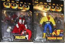 MARVEL GOLD Anime Collectors Edition FALCON and POWER Man Cage Lot MOC