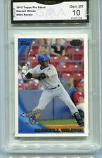 2010 Russell Wilson Topps Pro Debut Seahawks QB Baseball Rookie Gem Mint 10